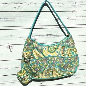 Vera Bradley Lemon Parfait Shoulder Bag